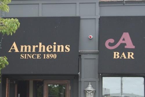 Amrheins Restaurant, Boston MA