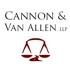 Cannon & Van Allen, LLP
