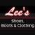 Lee's Shoes, Boots & Clothing