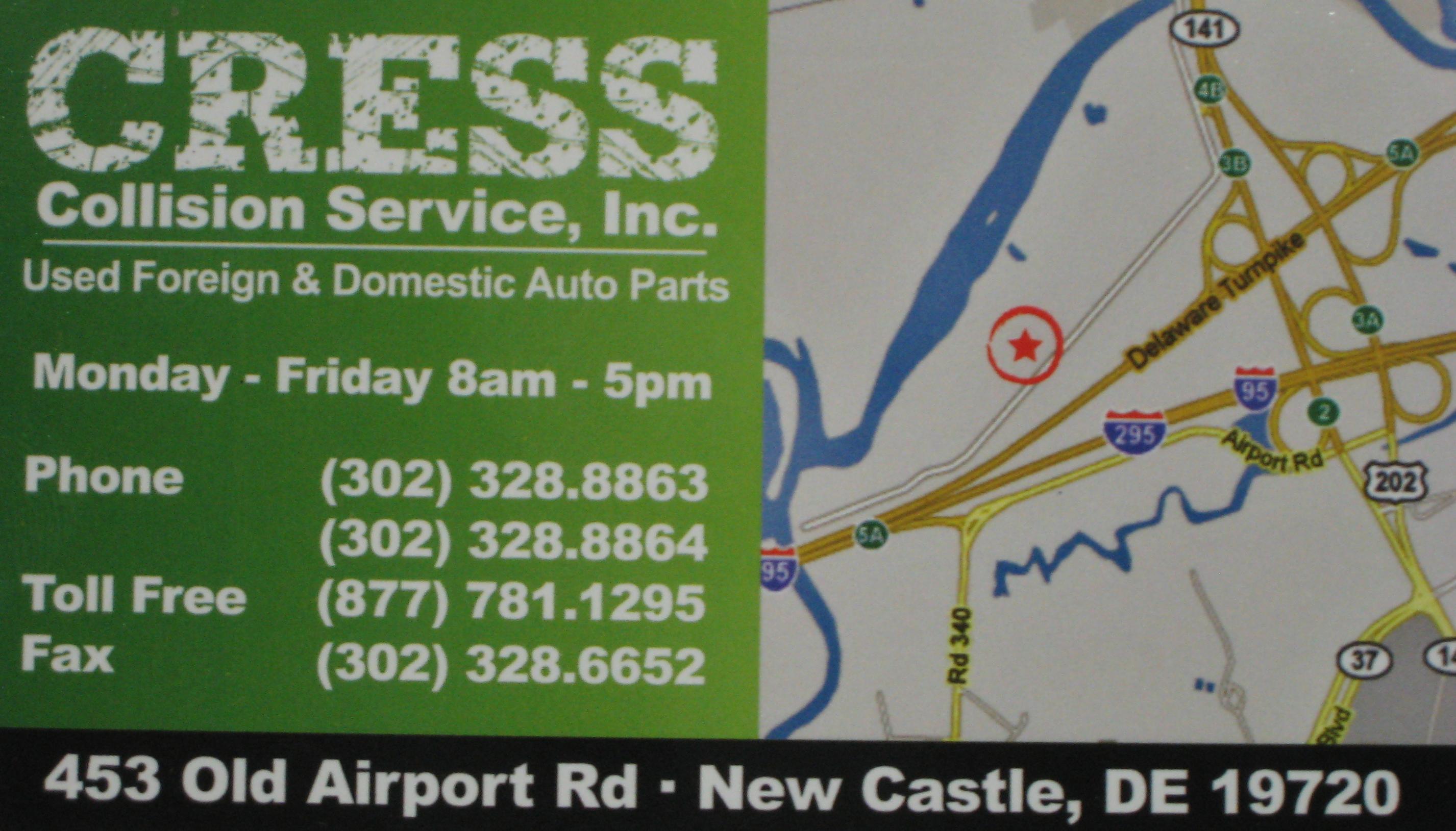 Cress Collision Service, New Castle DE