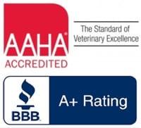 AAHA - BBB A+ logos