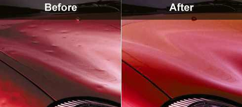 dent before after cut