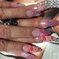 Luxury Nails - San Antonio, TX. This is the 4 star nails job
