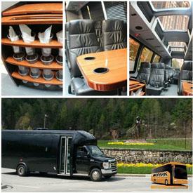 Midpark Valet & Transportation DC party bus