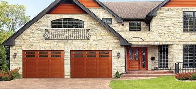 custom garage door