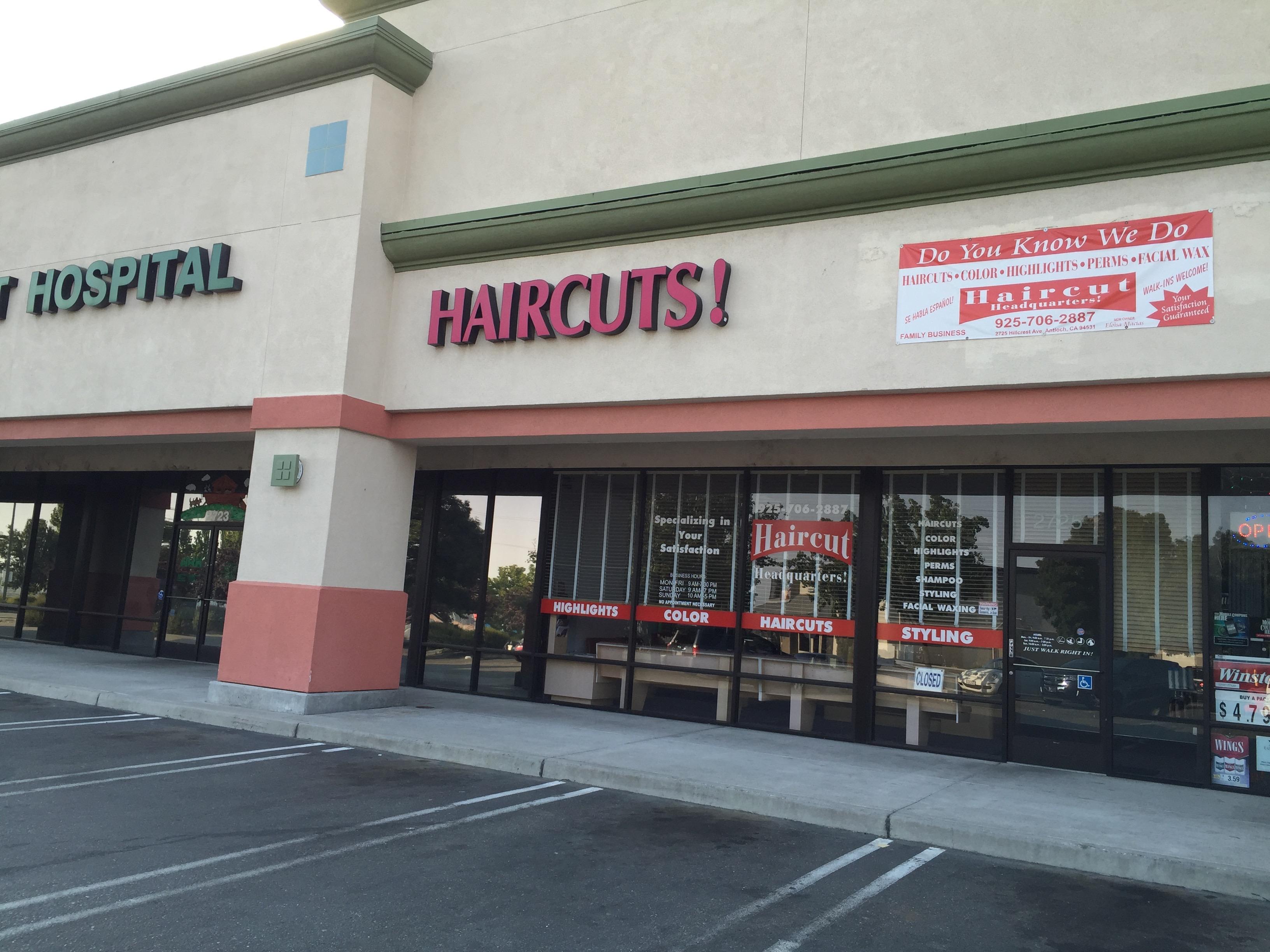 Haircut Headquarters, Antioch CA