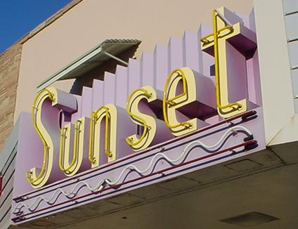 Sunset Theatre & Video, Connell WA