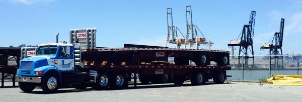 trucking industrial skinny