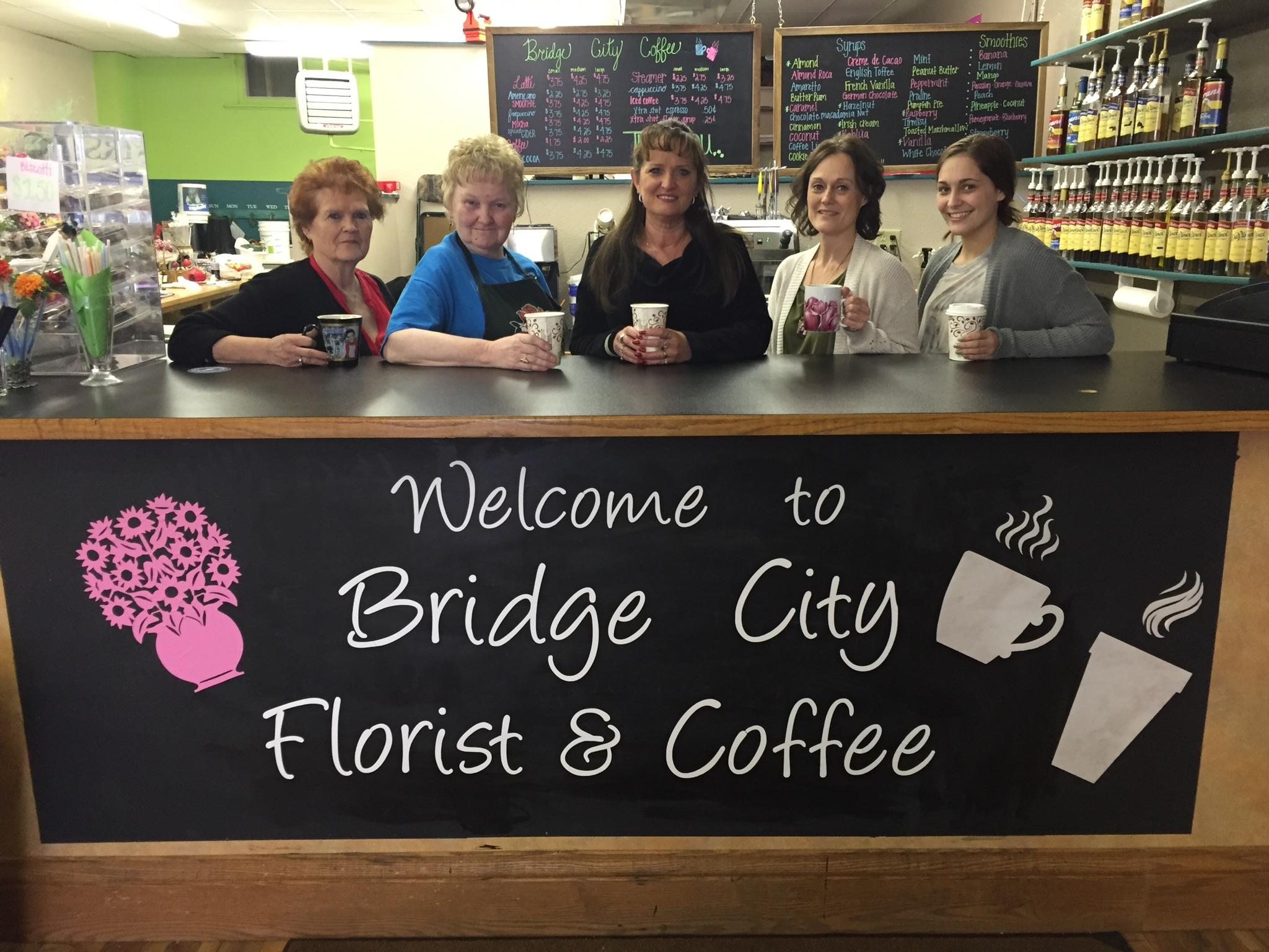 Bridge City Florist & Coffee, Mobridge SD