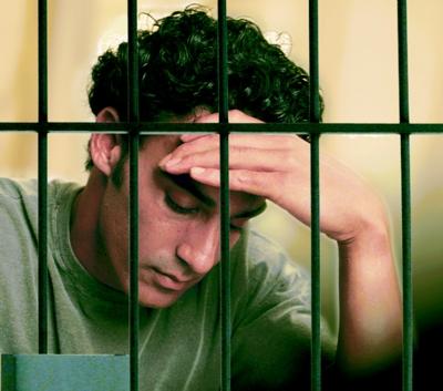 jailed man