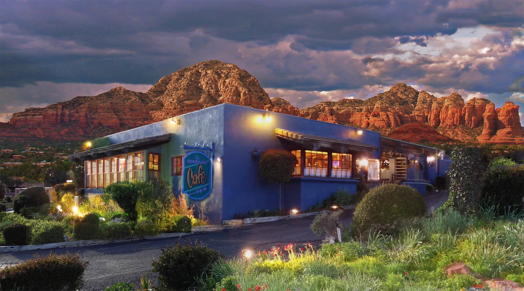 Heartline Cafe, Sedona AZ