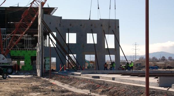 concrete build