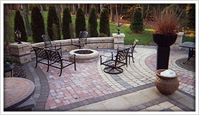 stone mulch and soil