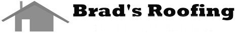 brad's roofing logo