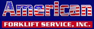 american forklift service