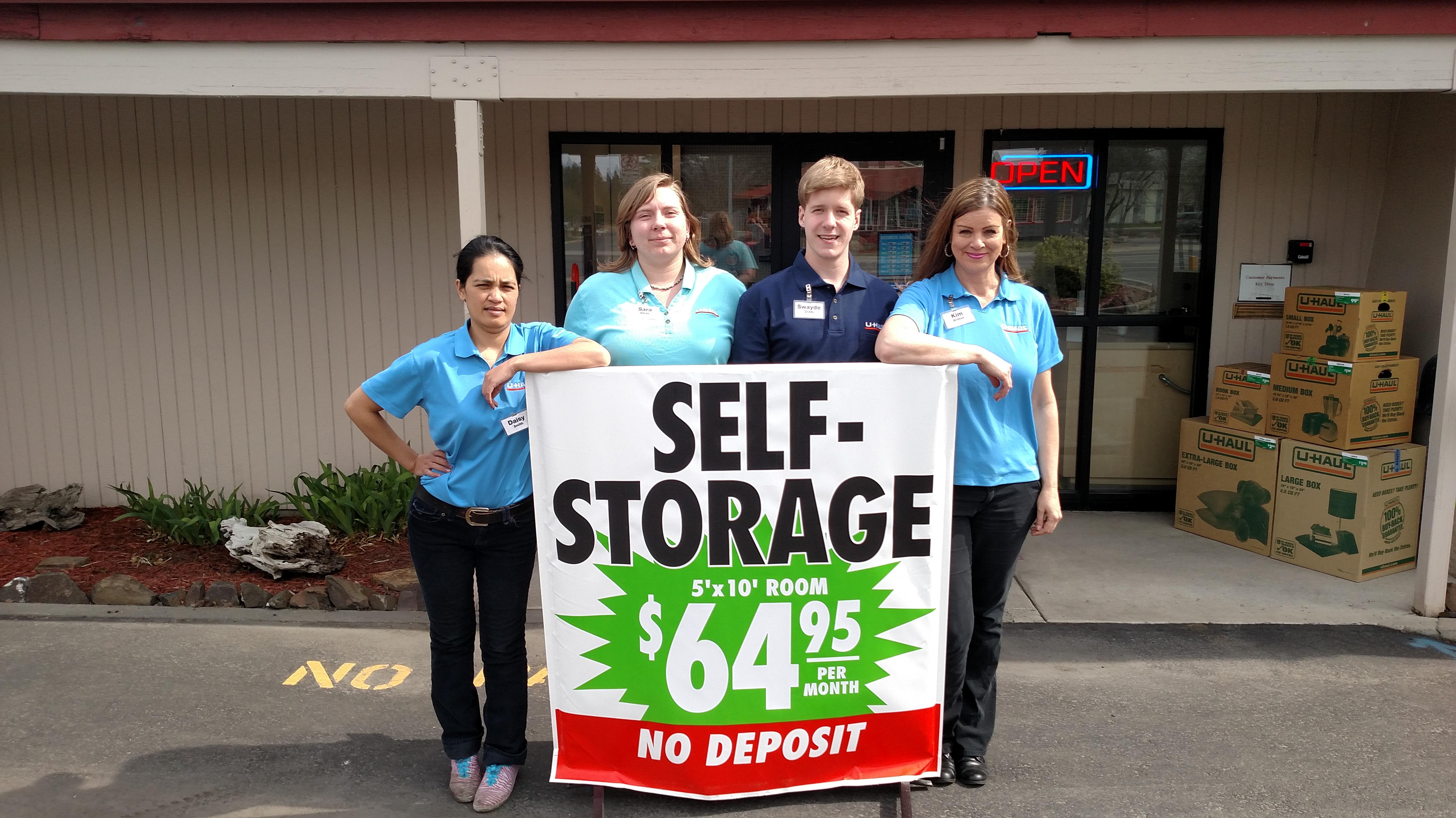 U Haul Moving & Storage of Lidgerwood Spokane WA