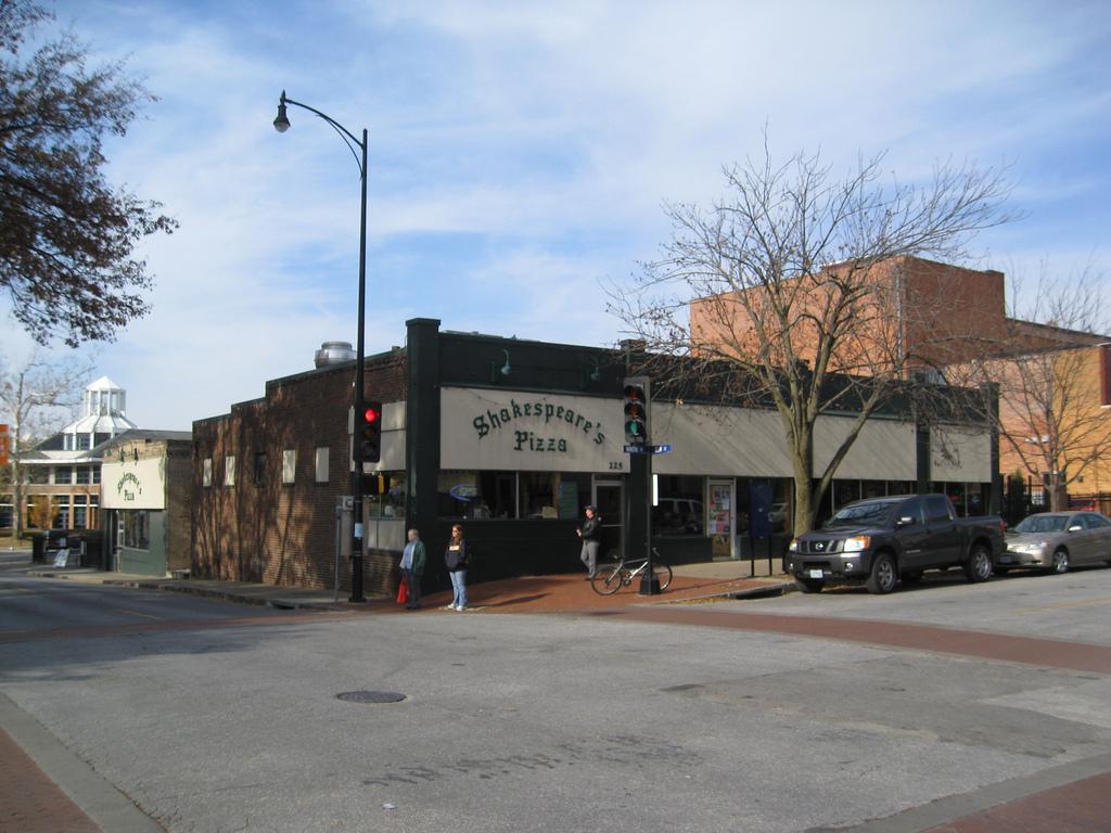 Shakespeare's Pizza, Columbia MO