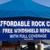Affordable Rock Chip Repair