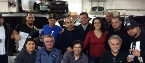 Star Auto Body Staff