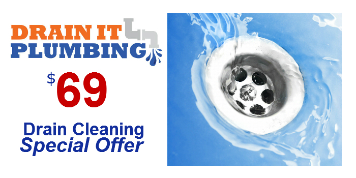 $69 Drain Cleaning Special