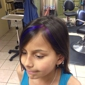 Sonya 4 Shear- Pure Elements - Rio Rancho, NM. Graduated color streaks