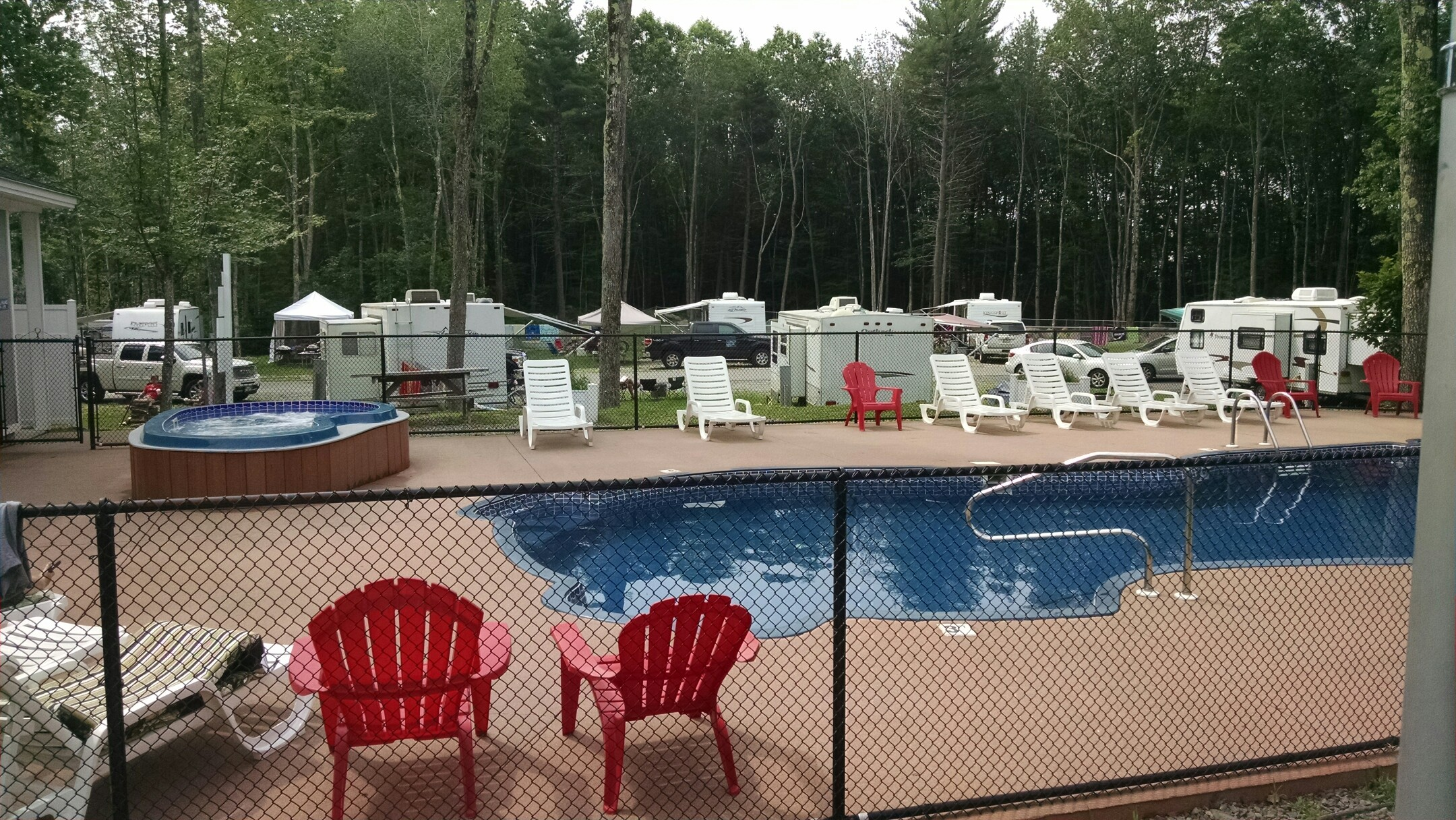 Paradise Park Camp Sites, Old Orchard Beach ME