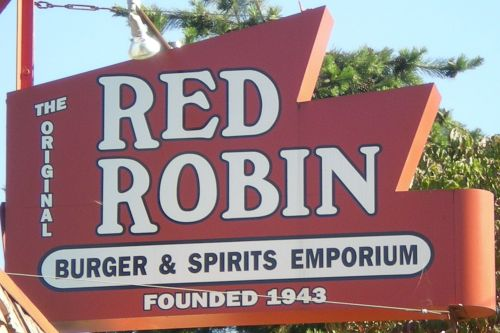 Red Robin Gourmet Burgers, Eugene OR