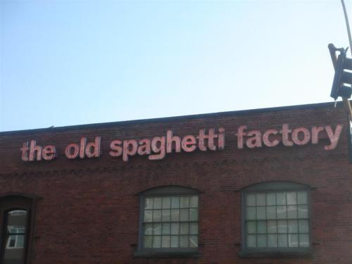 The Old Spaghetti Factory, Vancouver WA
