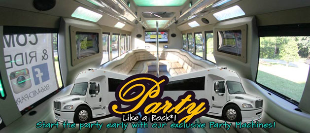 Midpark Valet & Transportation party Bus DC