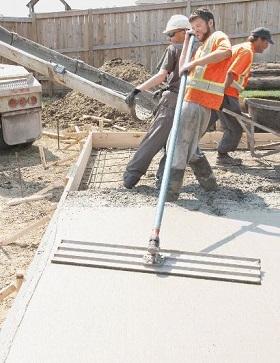 tc concrete installation