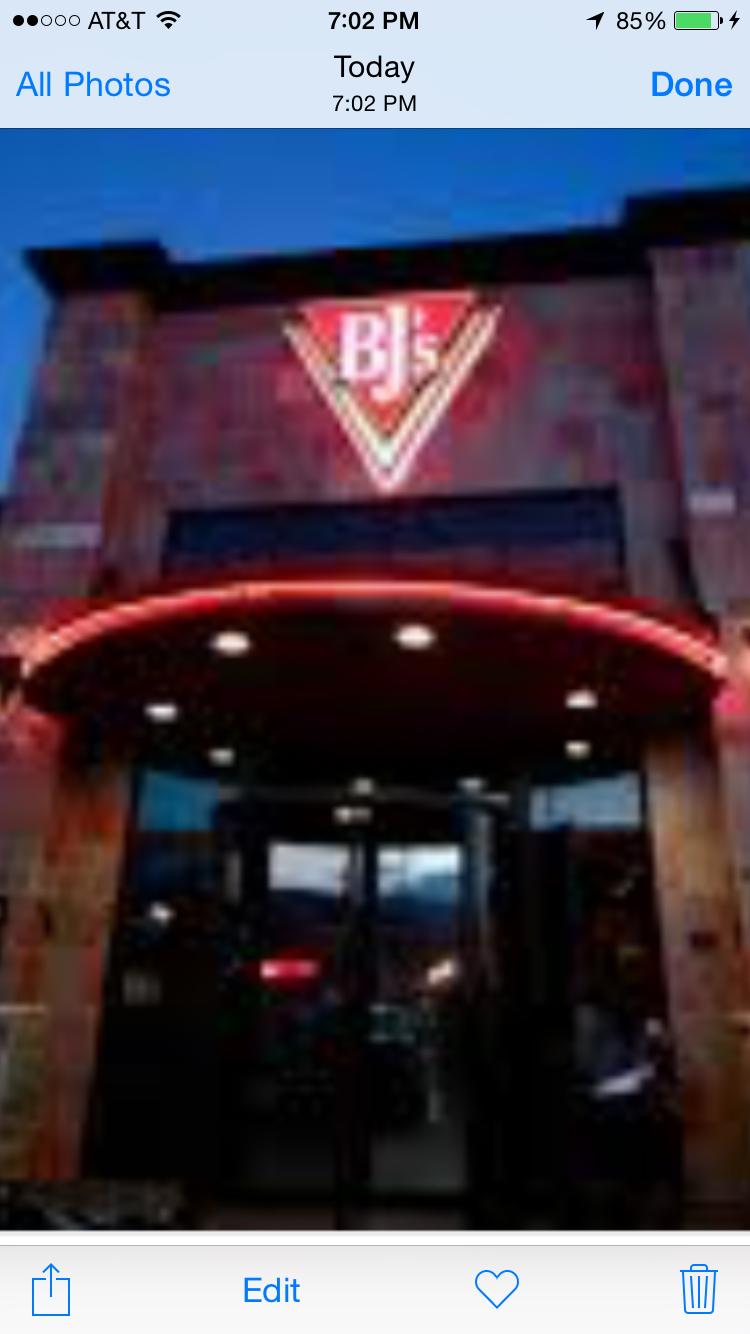 BJ's Restaurants, Folsom CA
