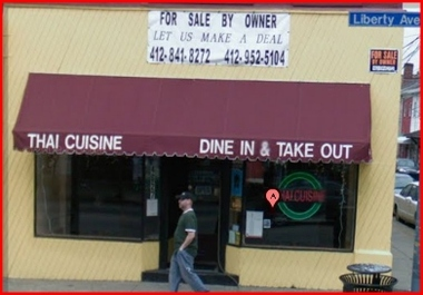 Thai Cuisine, Pittsburgh PA