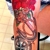 Shavon's Purple Lotus Tattoo