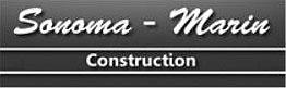 sonoma-marin construction logo