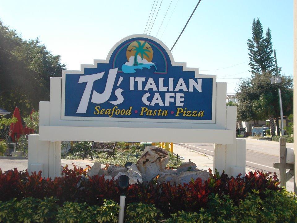 Tj S Italian Cafe Indian Rocks Beach Fl