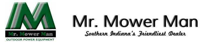 Mr. Mower Man Logo