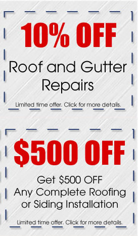 Roof Coupons
