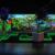 Tropical glow mini golf & activity hall