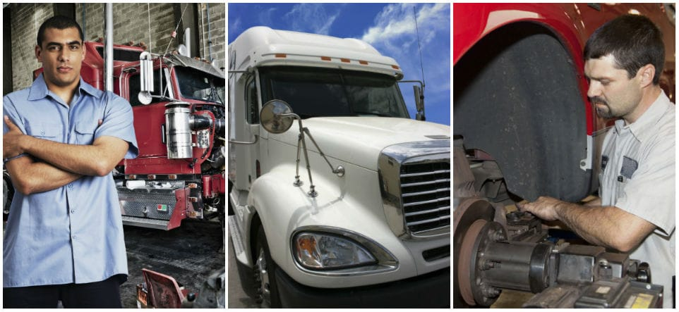 Your Diesel Truck Serviced by ASE Certified Mechanics