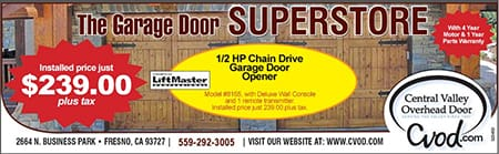 New garage door deals