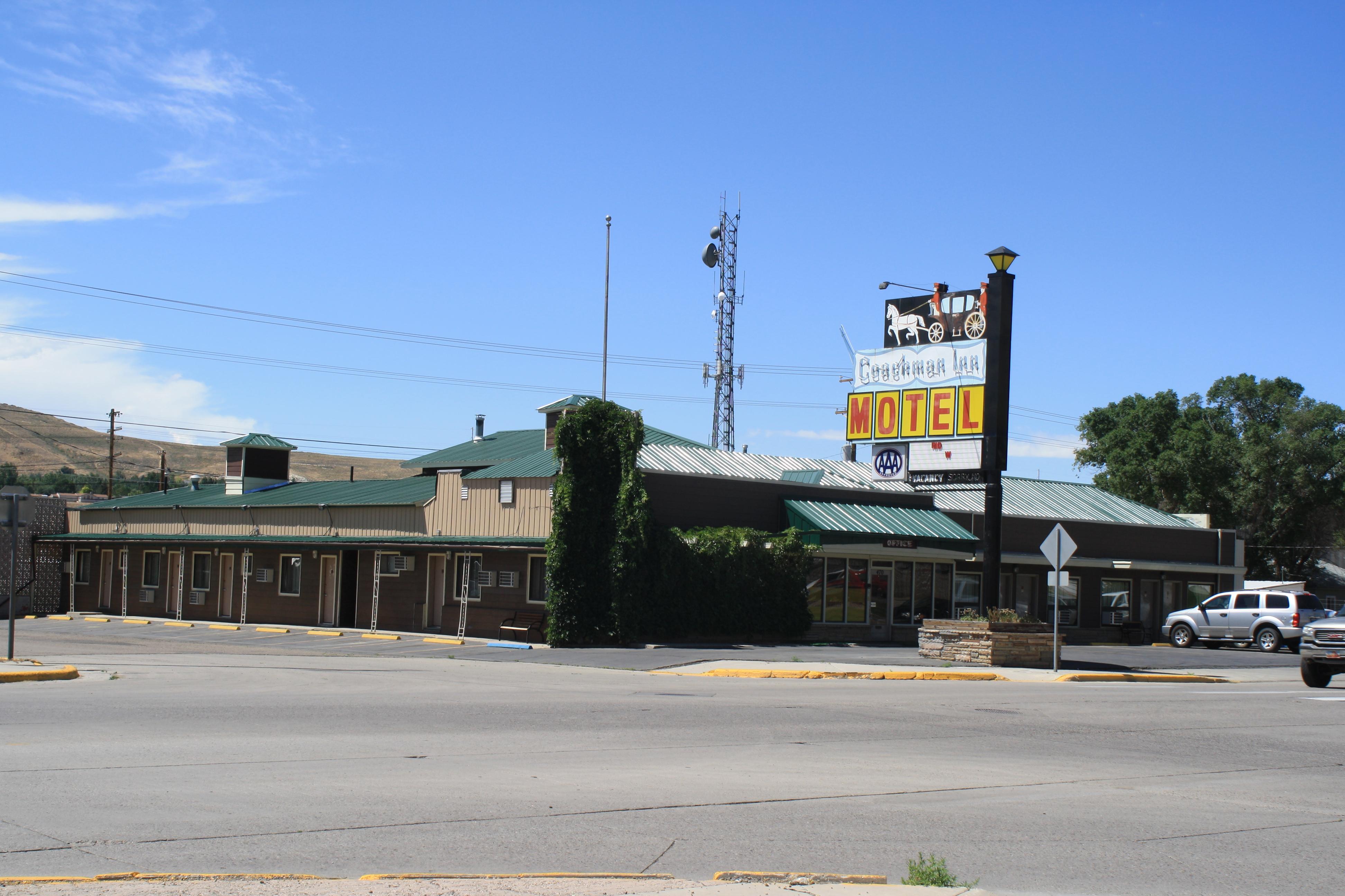 Coachman Inn Motel, Green River WY