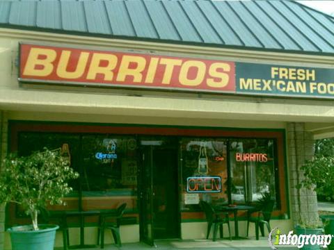 Burritos Mexican Grill, Sarasota FL