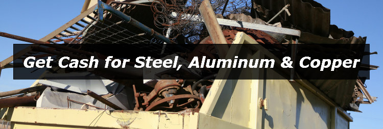 Get cash for steel aluminum and copper in Columbus
