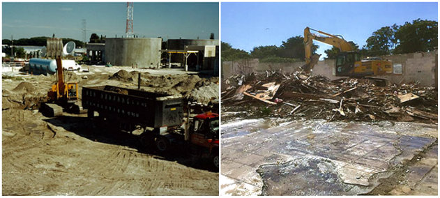 concrete demolish