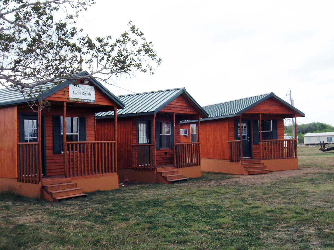 Town and Country Cabins Save 50%, Jourdanton TX