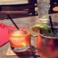 Twin Peaks Restaurant - Atlanta, GA. Old fashion and Moscow mule.