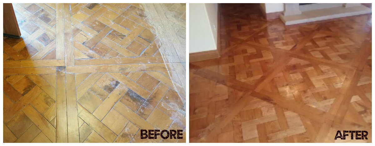 Before & After Flooring