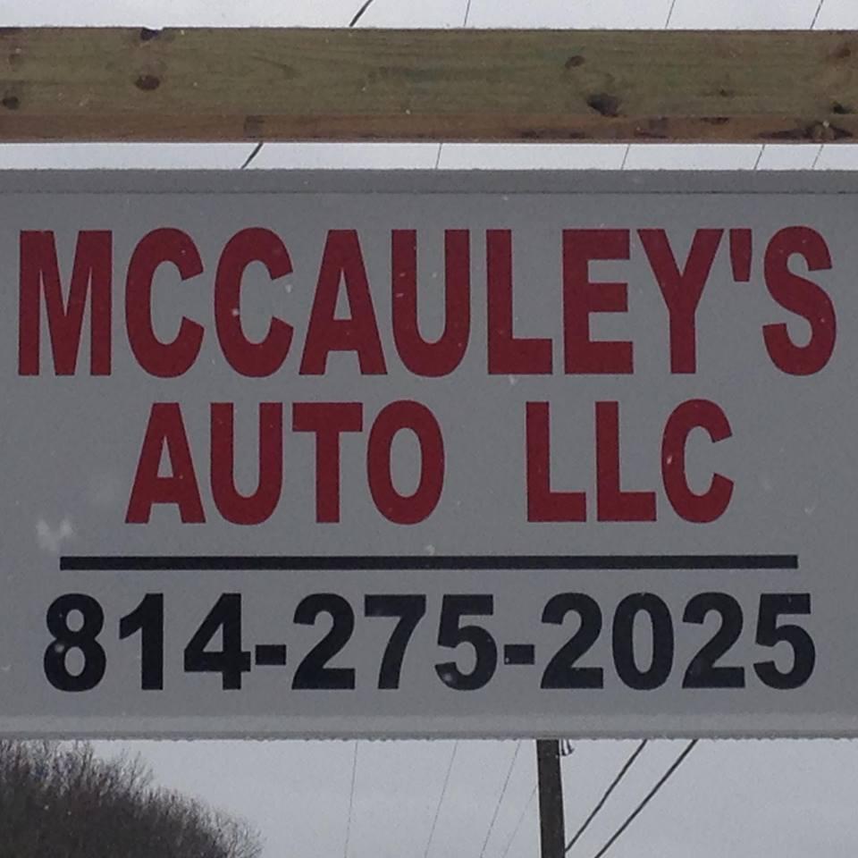 McCauley's Auto, New Bethlehem PA
