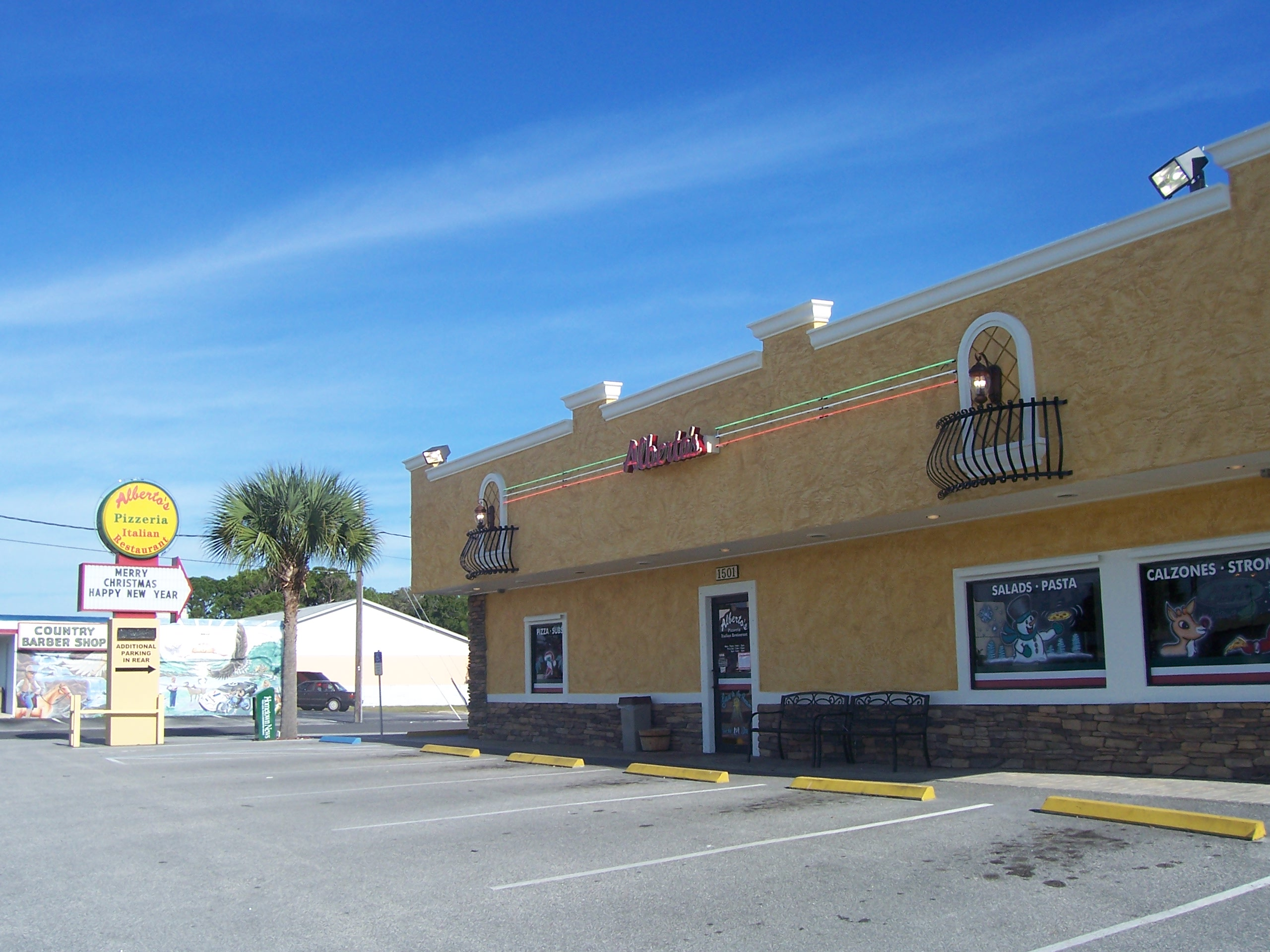 Alberto's Italian Restaurant, Edgewater FL