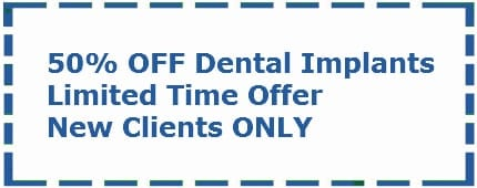 dental implants coupon